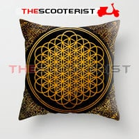 """BMTH Sempiternal - Pillow Cover 18"""" x 18"""" - One Side"""