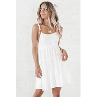 Beach Babe White Mini Dress