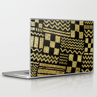Gold Fuse Laptop & iPad Skin by Nick Nelson | Society6
