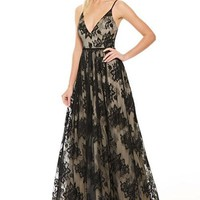Viviana Lace Prom Formal Event Dress Gown
