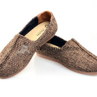 Old Beijing Linen Canvas Tai Chi Shoes