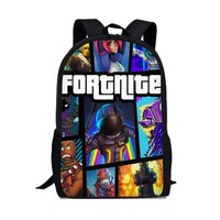 School Backpack trendy FORUDESIGNS Fortnite Battle Royale Game Boy Cartoon Schoolbags Cartoon Primary Backpack School Bags for Boys and Girl Mochila AT_54_4
