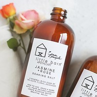 Little Barn Apothecary & Free People Womens Soaking Bath Salts