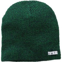 neff Men's Daily Heather Beanie, Green/Navy, One Size