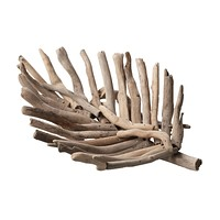 Natural Driftwood Leaf Tray - Small
