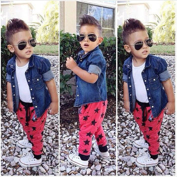 Kids Boys Girls Baby Clothing Products For Children = 4446032708