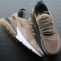 Nike Air Max 270 AH8050 200 Sepia Stone Sport Running Shoes - Best Online Sale