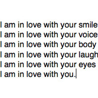 I am in love with... | via Tumblr - image #990399 by awesomeguy on Favim.com