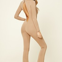 Flared Cutout Jumpsuit