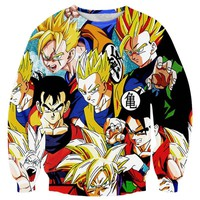 Dragon Ball Z Anime Sweatshirt V2