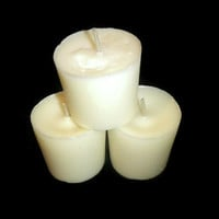 Premium Vanilla Bean soy votives, handpoured candles USA shipping included!