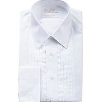 Gold Label Roundtree & Yorke Point-Collar French Cuff Tuxedo Shirt - W