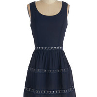 ModCloth Mid-length Sleeveless A-line Feature Interview Dress