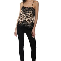 Robertson & Rodeo Leopard & Lace Cami