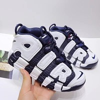 """Nike Air More Uptempo """"Purple White"""" Toddler Kid Shoes Child Sneakers - Best Deal Online"""