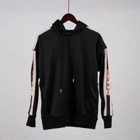 DCCK1V7 Gucci Sports Sweatshirts (Sleeves can be split)