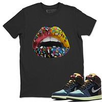 Lips Jewel T-Shirt - Air Jordan 1 Bio Hack
