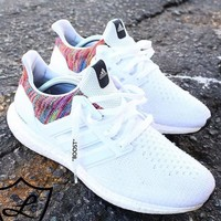 Adidas Boots Trending Women Men Casual Sport Running Shoes Sneakers White