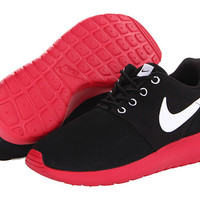 Nike Kids Roshe Run (Little Kid/Big Kid) Black/Distance Red/White - Zappos.com Free Shipping BOTH Ways