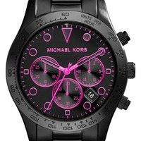 Women's Michael Kors 'Layton' Chronograph Bracelet Watch, 44mm