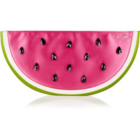 Charlotte Olympia - I Carried A Watermelon embellished satin clutch