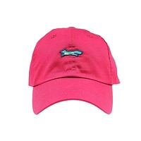 19th Hole Longshanks Performance Hat in Red by Imperial Headwear