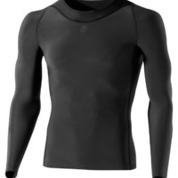 SKINS Men's Ry400 Recovery Long Sleeve Top , Black, Large