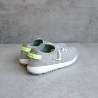 coolway - 'tahali' womens silver knit sneaker