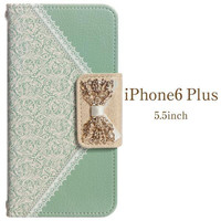 Mr.H Soft Grace Fashionable Women's Diary Case for iPhone 6 Plus