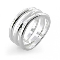 Bling Jewelry Wave Hello 2 Me Ring