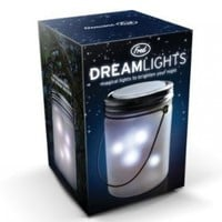 Fred & Friends DREAMLIGHTS Solar-Powered Rechargeable Flickering Lamp
