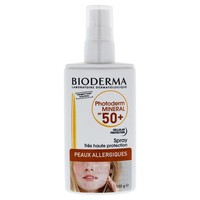 Bioderma Photoderm Mineral Spray Spf 50 By Bioderma For Unisex - 3.5 Oz Sunscreen