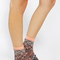 Urban Outfitters - Hansel From Basel Crazy Knit Crew Sock