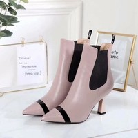 FENDI  Women Casual Shoes Boots popularable casual leather Women Heels Sandal Shoes