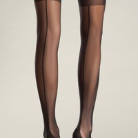 Cuban Heel Thigh Highs