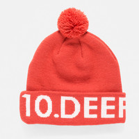 10Deep | Accessories | Lower Third Knit Hat - Red