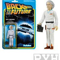 Funko ReAction Back To The Future Doc Brown Action Figure