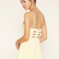 Cutout Fit and Flare Cami Dress | Forever 21 - 2000177440