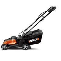 24 Volt WORX 14-inch Cordless Electric Lawn Mower- 40 mins per charge