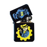 No. 5 New Fallout 4 Vault Boy Amazing Blue & Yellow Cool Windproof Lighter To Celebrate For Gamers Gifts