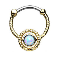 Roped Lab Opal IP Round Septum Clicker