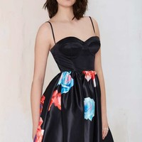 Nasty Gal Bloom and Board Fit & Flare Dress