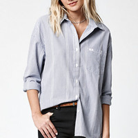 OBEY Wylie Stripe Button-Down Shirt at PacSun.com