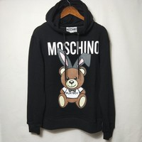 Moschino Cute Rabbit Ears Bear Sweatshirt