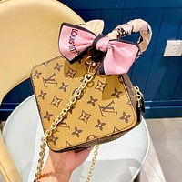 Louis Vuitton LV Fashion Women Shopping Bag Leather Dice Handbag Tote Crossbody Satchel Shoulder Bag