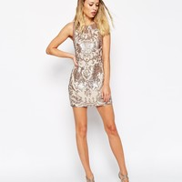 Needle & Thread Embellished Motif Cut Out Dress