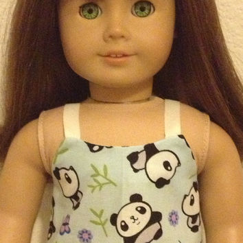 Most Adorable Panda Pajama Set: fits most 18 in dolls