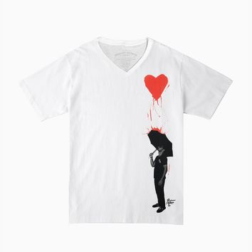 Archives | Pouring Heart V-Neck Tee