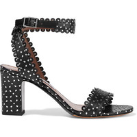 Tabitha Simmons - Leticia studded perforated leather sandals
