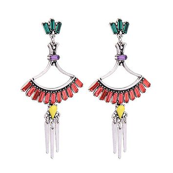 SINA - Salsa Spike Earrings